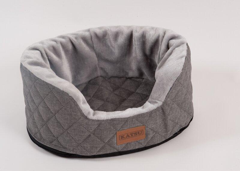 Катсу Лежак Studnia для собак, серый, 125*100*40 см, Katsu