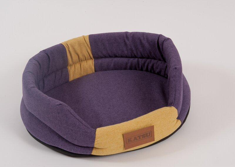 Катсу Лежак Pontone Animal фиолетовый/песочный, в ассортименте, Katsu