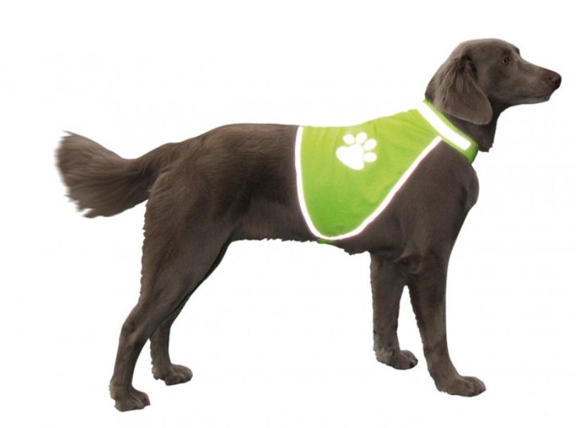 Нобби Жилет светоотражающий для собак, желтый, в ассортименте, Nobby