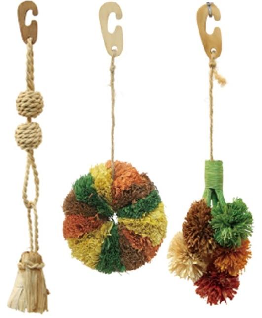 Фауна Интернешнл Игрушка для птиц и грызунов, из кукурузы, в ассортименте, Fauna International