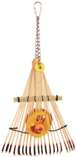 Фауна Интернешнл Игрушка Бамбуковые грабли для птиц, в ассортименте, Fauna International