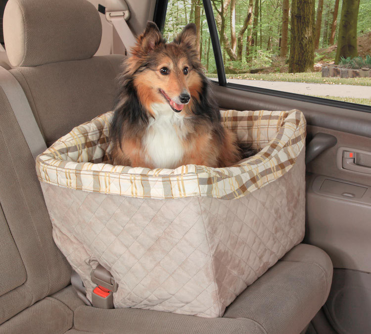 Солвит Авто сиденье Deluxe для собак на сиденье автомобиля, 56*43*43 см, Solvit Products