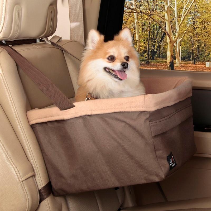 Солвит Авто сиденье Standart для собак на сиденье автомобиля, в ассортименте, полиэстер, Solvit Products