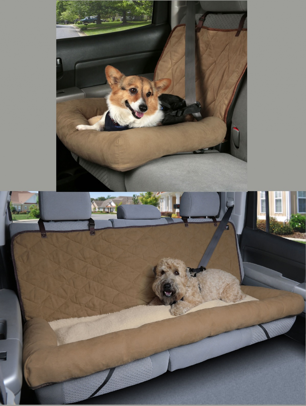 Солвит Лежак-чехол для собак в автомобиль, в ассортименте, Solvit Products