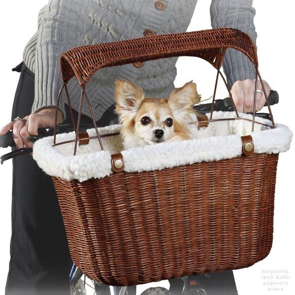 Солвит Велокорзина плетеная для собак, 41*30*25 см, Solvit Products