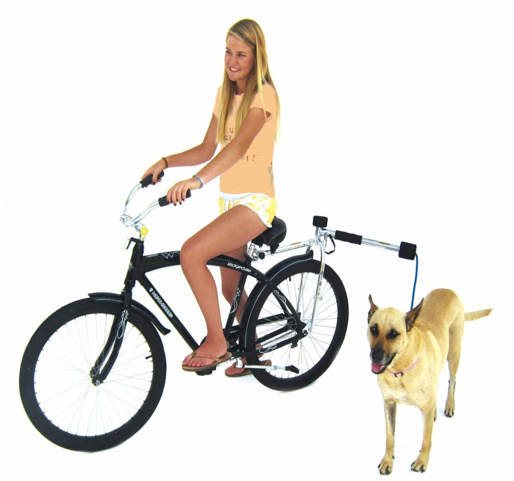 Велосипедный поводок Bike Balance SX1 для собак, алюминий/нержавеющая сталь, Китай