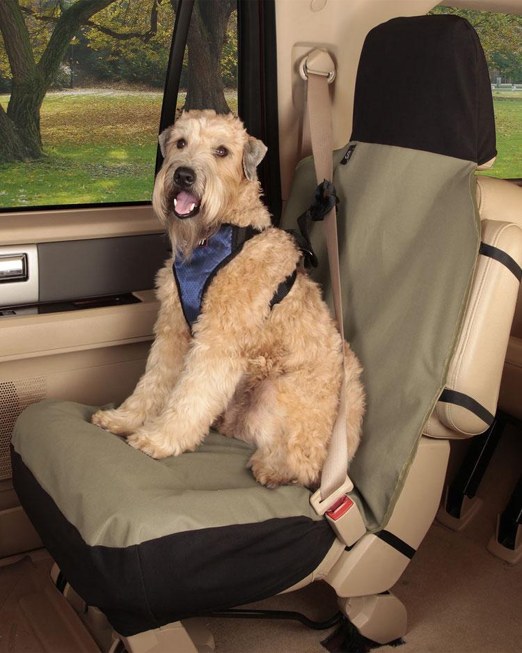 Солвит Автомобильный чехол Bucket Seat Cover на переднее сиденье, 132*56 см, серый, Solvit Products