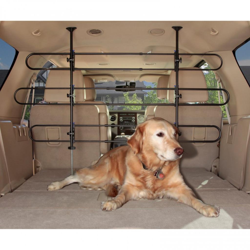 Солвит Решетка для багажника автомобиля регулируемая, высота 81-124 см, ширина 84-145 см, Solvit Products