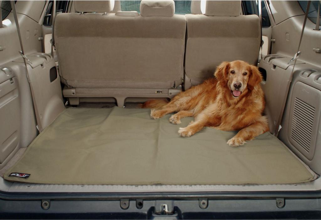 Солвит Водонепроницаемый чехол Sta-Put в багажник, 123*127 см, полиэстер, Solvit Products