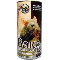 Вака Люкс Корм для декоративных крыс и мышей, 800 г, Вака Биосфера