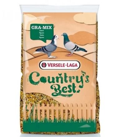 Верселе Лага Смесь базовая для голубей Gra-Mix Pigeons с дробленой кукурузой, 20 кг, Versele-Laga