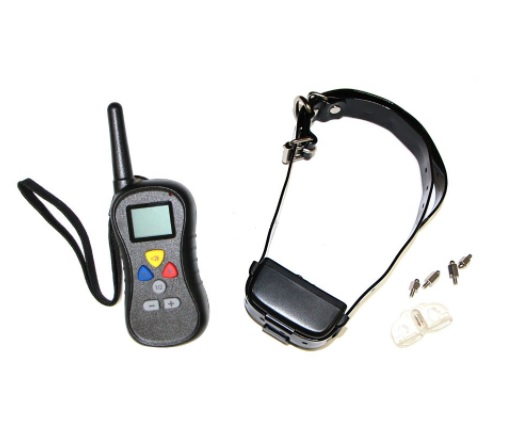 Ошейник для дрессировки с функцией Анти-лай, дальность 400 м, обхват шеи от 25 до 65 см, Petainer