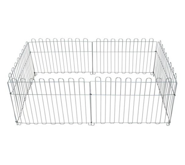 Доглэнд Вольер оцинкованный для собак и кошек, размер секции 60*55 см, в ассортименте, Dog Land