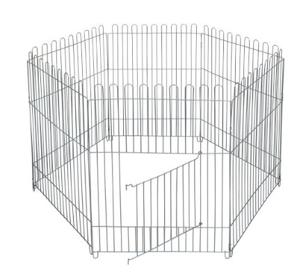 Доглэнд Вольер оцинкованный для собак и кошек, размер секции 65*95 см, в ассортименте, Dog Land