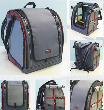 Переноска-рюкзак StePan с открывающимися боковыми шторками для птиц, 39*30*45 см, вес 2,4 кг, цвета в ассортименте СЕРЫЙ или ОЛИВКОВЫЙ