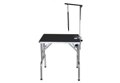 Грумерский стол Grooming Table складной без колес, серия SS, 70*48*76 см, черный, Transgroom