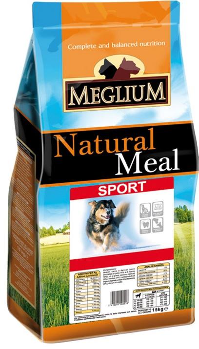 Меглиум Сухой корм Sport для собак, в ассортименте, Meglium