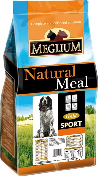 Меглиум Сухой корм Sport Gold для собак, в ассортименте, Meglium