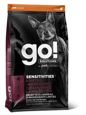 Корм Гоу беззерновой Holistic Sensitivity для щенков и собак с чувствительным пищеварением, Ягненок, в ассортименте, Go! Natural