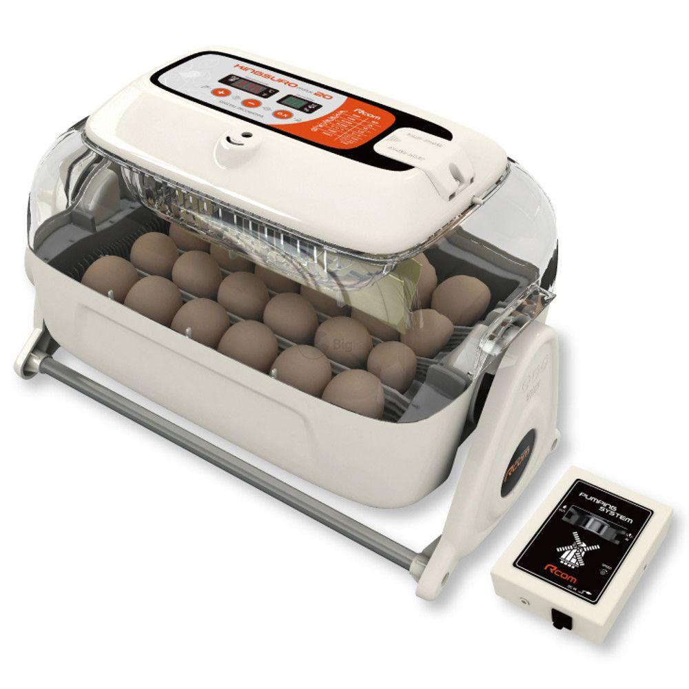 Инкубатор Rcom King suro 20 MAX MX-SURO, вместимость 9-60 яиц согласно виду птицы, 43*23*26 см, Autoelex