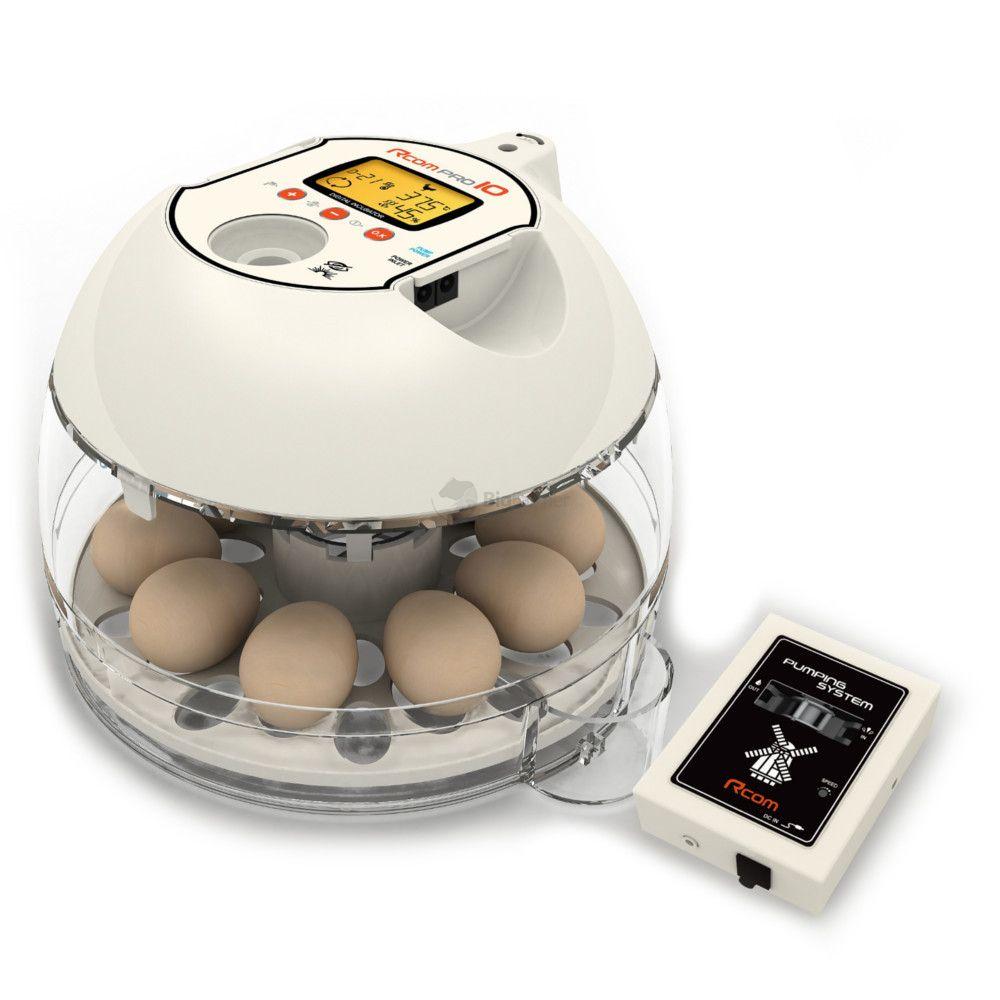 Инкубатор Rcom 10 Pro Plus PX-10P, вместимость 10-30 яиц согласно виду птицы, 26*23*17 см, Autoelex