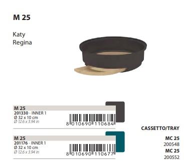 Поддон с выдвижными лотками M25 для клеток Katy, Regina, 32*10 см, в ассортименте, Ferplast