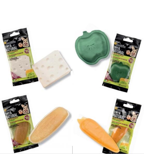 Ферпласт Жевательная игрушка GoodBite Tiny/Natural для грызунов, в ассортименте, Ferplast