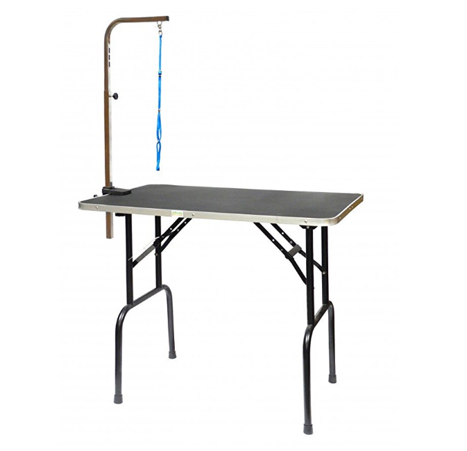 Доглэнд Грумерский стол складной с Г-образным держателем, в ассортименте, Dog Land