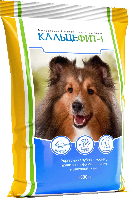 Кальцефит Витаминно-минеральная подкормка для собак, 500 г