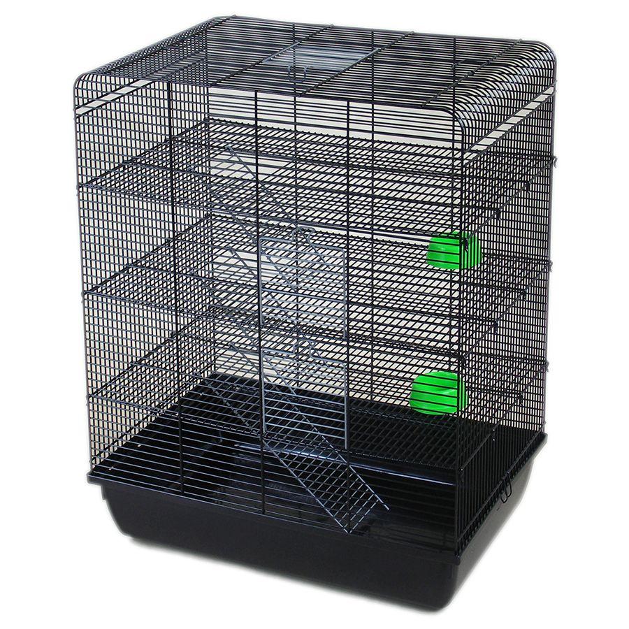 ИнтерЗоо Клетка Remy для грызунов, 58*38*71,5 см, 4 этажа, в ассортименте, InterZoo