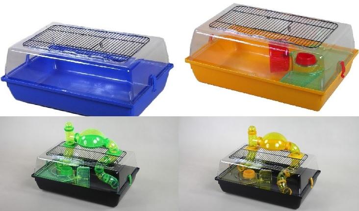 ИнтерЗоо Клетка-террариум Alex для грызунов, 58*38*25 см, в ассортименте, InterZoo