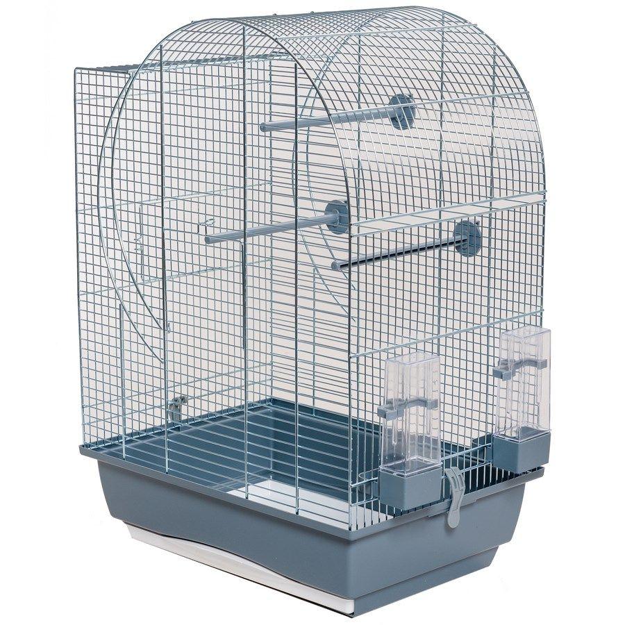 ИнтерЗоо Клетка Elisabeth P080 для птиц 45*32*64 см, оцинкованные прутья, поддоны в ассортименте, InterZoo