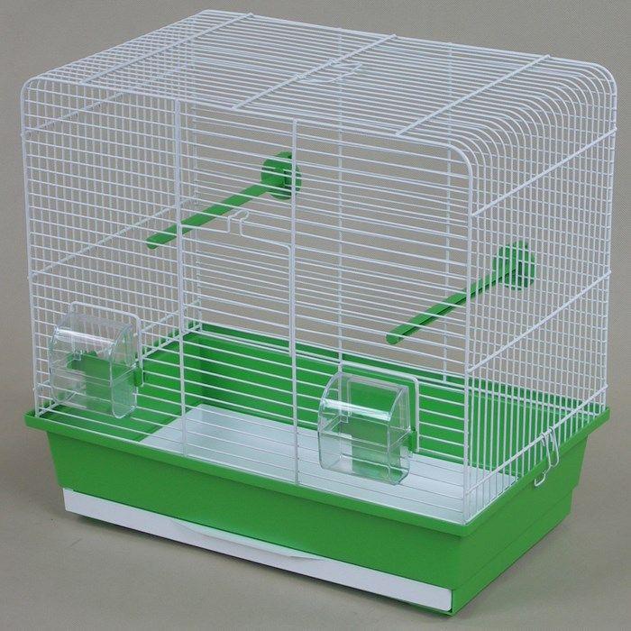 ИнтерЗоо Клетка Luna для птиц, 45*28*42 см, в ассортименте, InterZoo