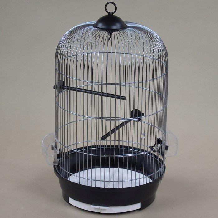 ИнтерЗоо Клетка Julia для птиц круглая, диаметр 34 см, в ассортименте, InterZoo
