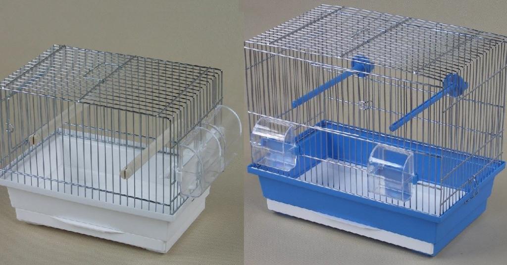ИнтерЗоо Клетка Kanarek для мелких птиц, в ассортименте, оцинкованные прутья, InterZoo