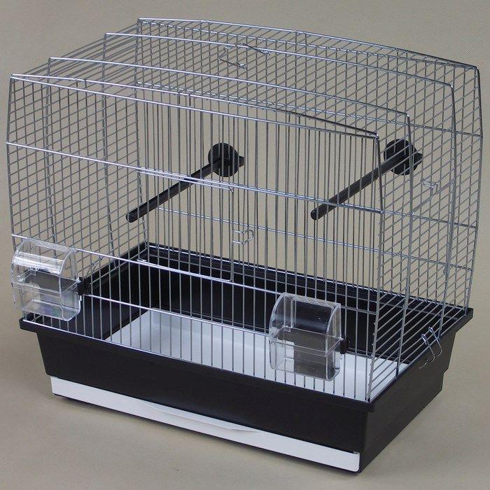 ИнтерЗоо Клетка Natalia для птиц, в ассортименте, оцинкованные прутья, InterZoo