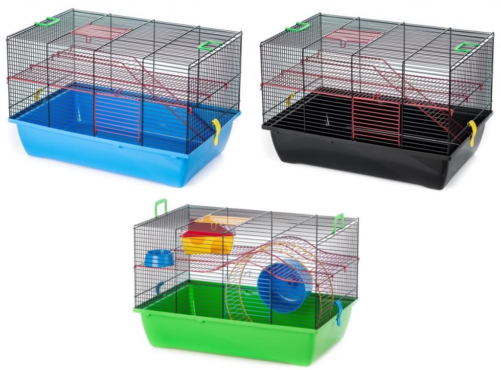 ИнтерЗоо Клетка Pigi 2 для грызунов, 50*28*31 см, в ассортименте, эмаль, InterZoo