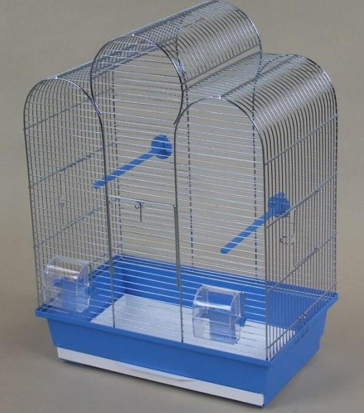 ИнтерЗоо Клетка Iza для птиц, 45*28*61 см, в ассортименте, InterZoo