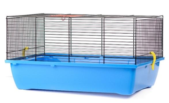 ИнтерЗоо Клетка Pigi 1 G056/290/295 для грызунов, 50*28*24,5 см, в ассортименте, эмаль, InterZoo