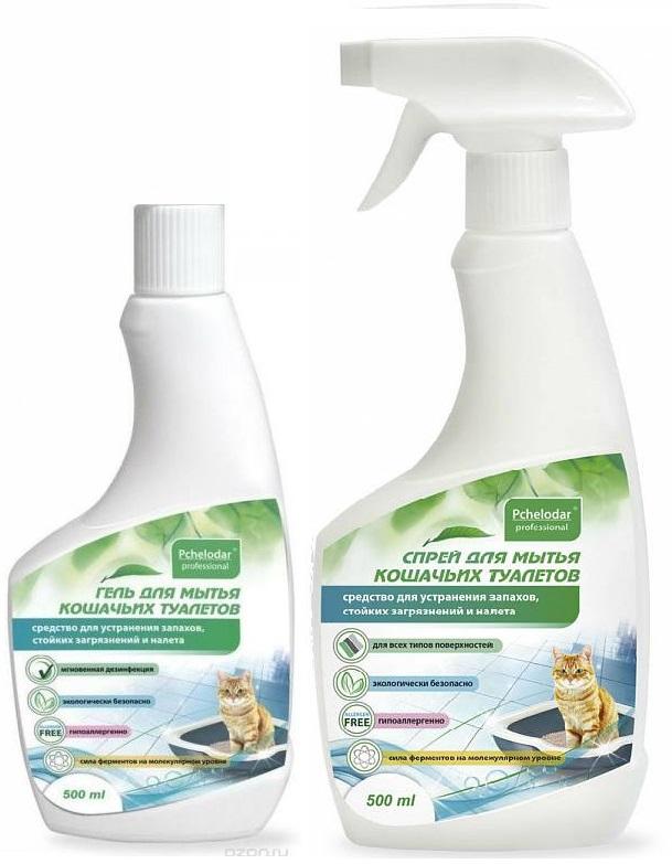 Пчелодар Средство для мытья кошачьих туалетов, 500 мл