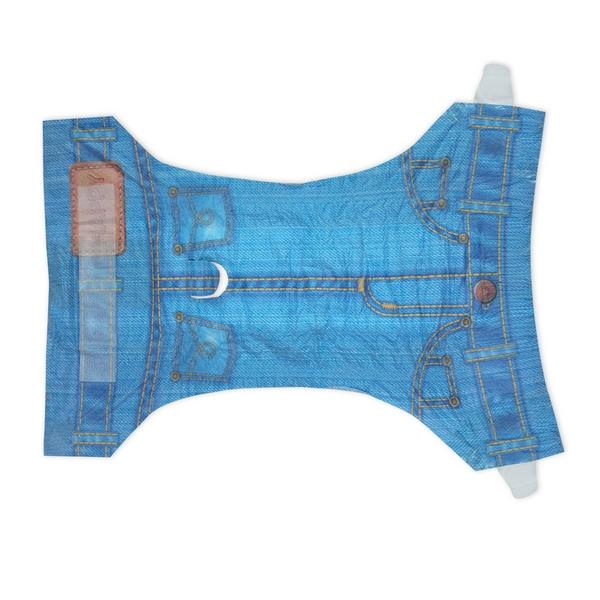 ПэтСофт Подгузники для домашних животных Jean Diapers в виде джинсов для собак, в ассортименте, 8 штук, Pet Soft