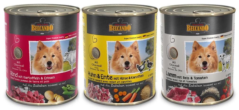 Белькандо Консервы для собак, в ассортименте, 800 г, Belcando