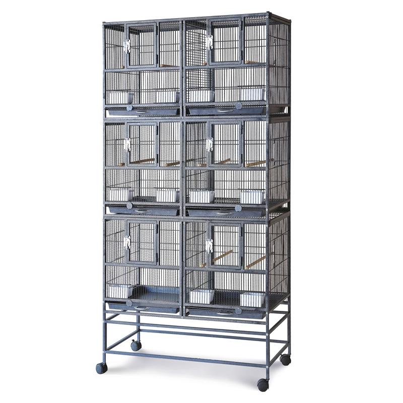 Триол Клетка-вольер BR222 для разведения и содержания птиц и грызунов, 95,5*45,5*208 см, Triol