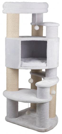 Трикси Игровой комплекс Zita XXL для крупных кошек, 64*64*147 см, белый, Trixie