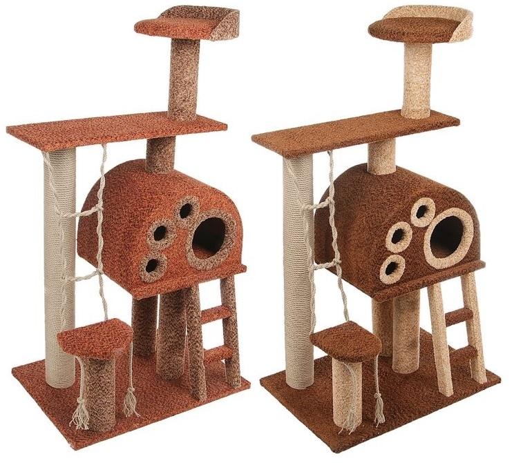 Персилайн Комплекс игровой Фантазия для кошек, 70*50*130 см, Perseiline