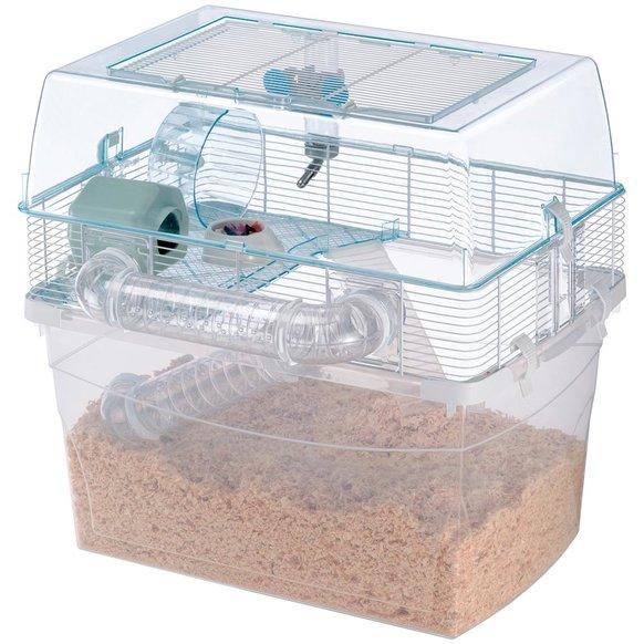 Ферпласт Клетка-террариум Duna Space для хомяков и мелких грызунов, двухэтажная, 57,5*47,5*54,5 см, Ferplast