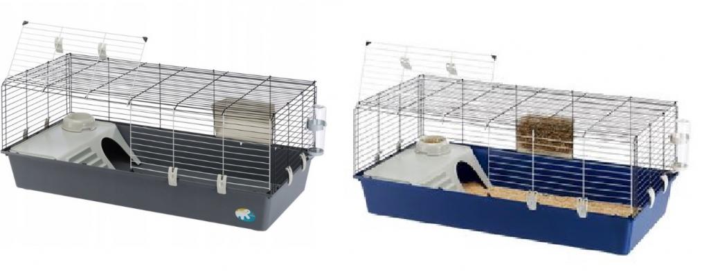 Ферпласт Клетка Rabbit 120 для кроликов и морских свинок, 118*58,5*49,5 см, в ассортименте, Ferplast