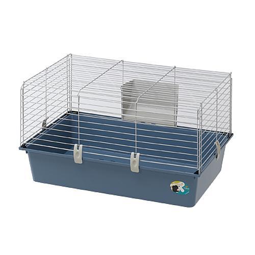 Ферпласт Клетка Cavie 80 New бюджет для кроликов и морских свинок, 77*48*42 см, в ассортименте, Ferplast
