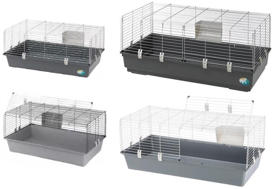 Ферпласт Клетка Rabbit БЮДЖЕТ для кроликов и морских свинок, в ассортименте, Ferplast