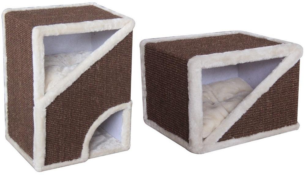 ПетЧойс Когтеточка-домик прямоугольный, в ассортименте, Pet Choice